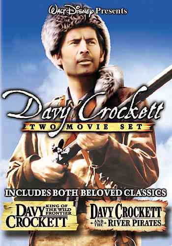 DAVY CROCKETT TWO MOVIE SET BY PARKER,FESS (DVD)